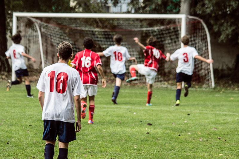 Reportage Partita di Calcio
